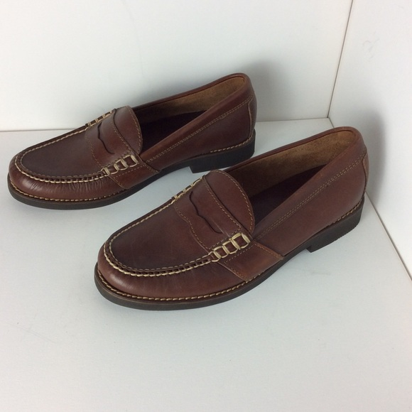 49ad86e2262 Ralph Lauren Polo Sport Brown Penny Loafers 8.5 D.  M 5b43b991534ef949263af466